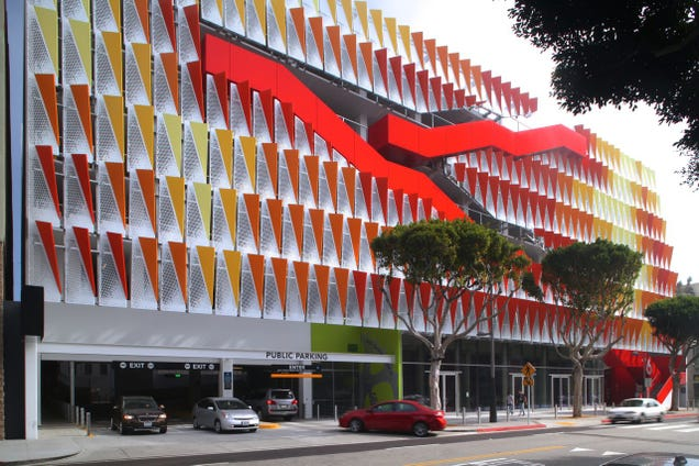 Three Of The World S Prettiest Parking Garages Are In One