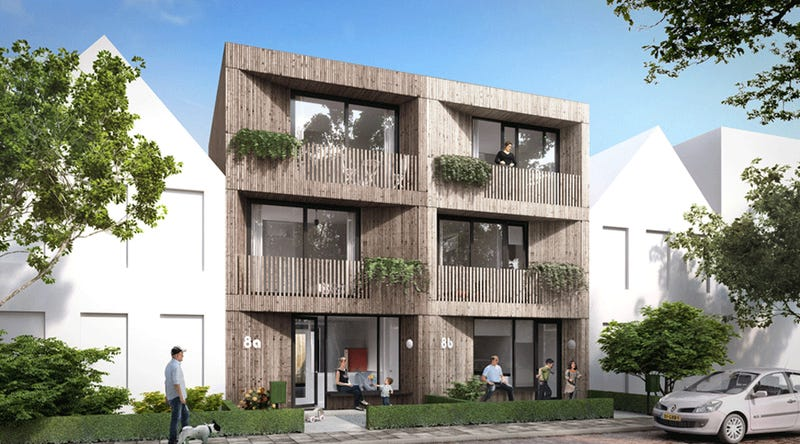 Town reinvents homebuilding with flat pack houses under 150k for Build a house for under 150k