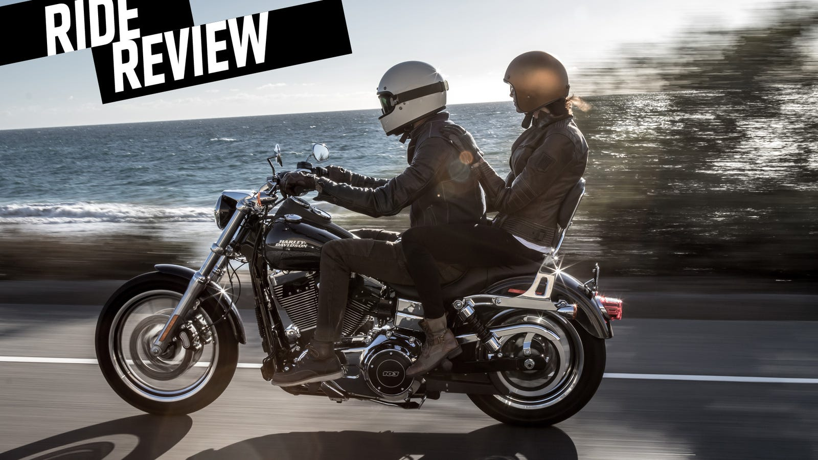 Ride Review The Harley Davidson Dyna Low Rider Helped Me