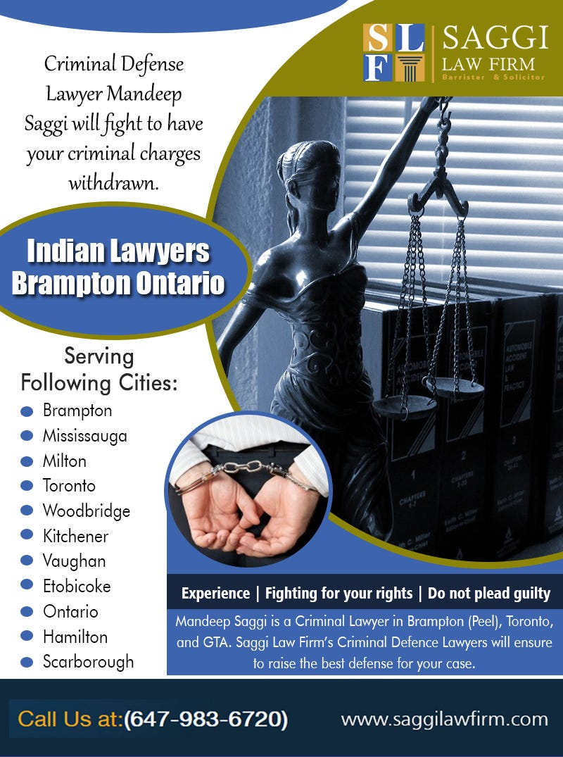 Illustration for article titled Indian Lawyers Brampton Ontario