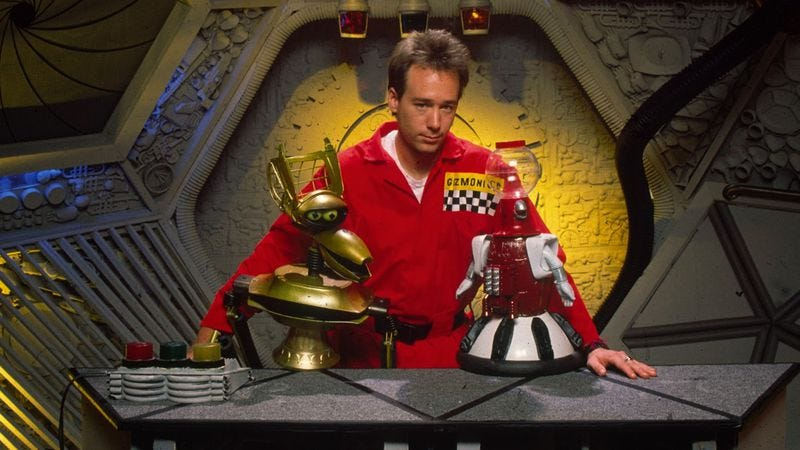 Illustration for article titled In the not too distant future, Joel Hodgson plots some sort of MST3K reboot