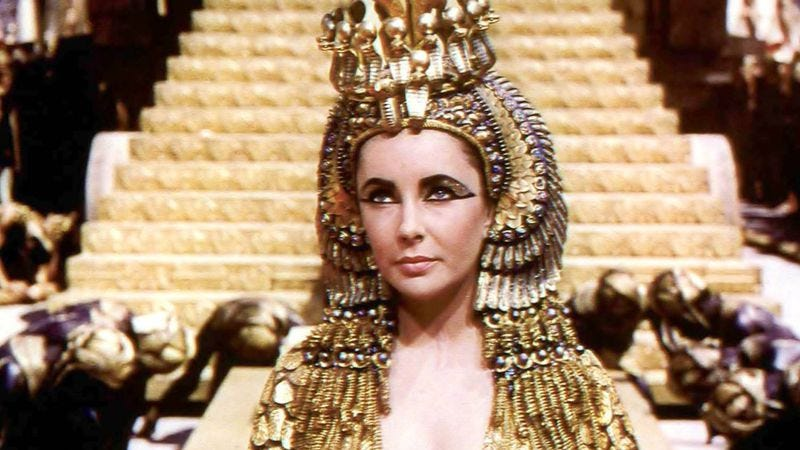 For decades, Cleopatra was a symbol of Hollywood excess