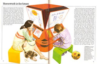 Illustration for article titled Homework in the Future (1981)