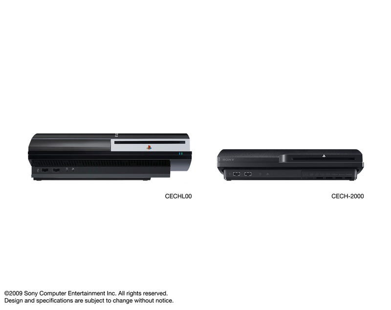 Illustration for article titled PS3 Fat Next To Slim