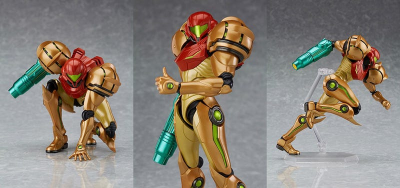 Illustration for article titled Here's A Cool Metroid Figure