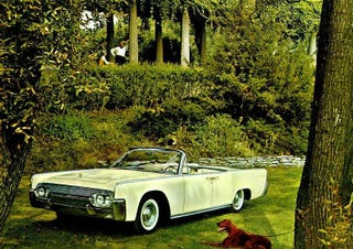 Illustration for article titled Lincoln Continental A Brief History