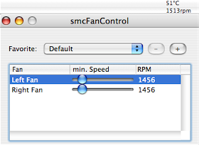 Illustration for article titled Download of the Day: smcFanControl (Mac)