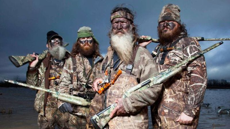 Illustration for article titled Duck Dynasty to become a (Vegas) musical