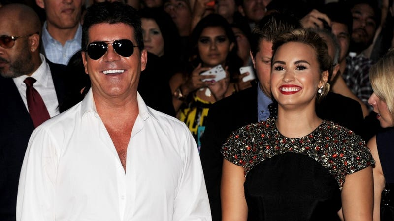 Illustration for article titled Simon Cowell Told Demi Lovato She's 20 Lbs Too Fat For X-Factor