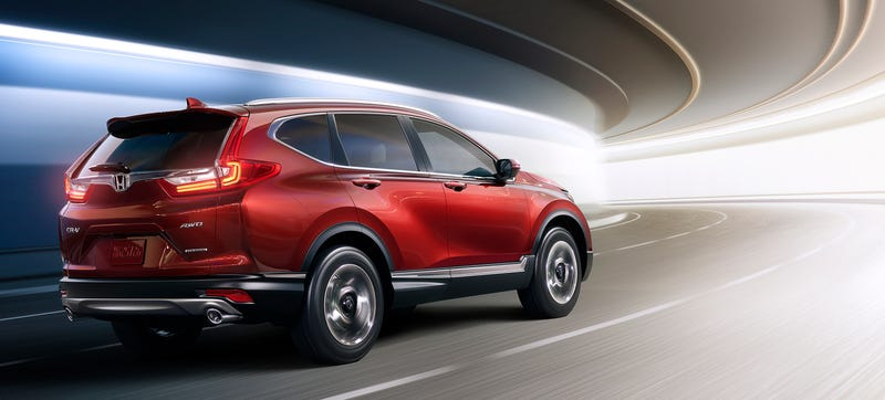 Illustration for article titled 2017 Honda CR-V: Get Ready To See This Thing Everywhere