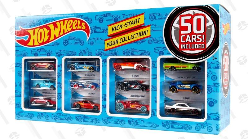Hot Wheels Classic 50-Car Collection Pack Assortment | $30 | Walmart