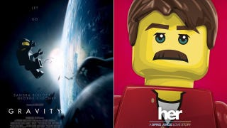 Illustration for article titled Lego movie posters for Best Picture nominees are actually kind of great