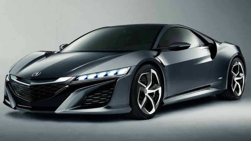 Illustration for article titled The Acura NSX Prototype Will Run A Lap Before The Mid-Ohio Indy Race