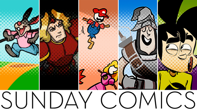 Sunday Comics: What A Cute Rabbit!