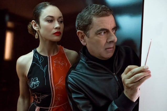 Johnny English Strikes Again continues the mild adventures of Rowan Atkinson's un-super spy
