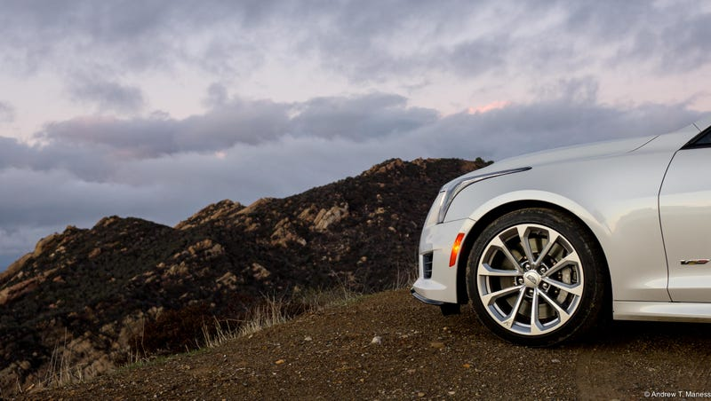 Illustration for article titled I Have A Cadillac ATS-V Coupe For A Week, Whatcha Wanna Know?