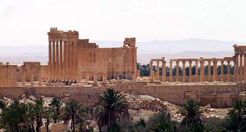 Illustration for article titled Los tesoros arqueológicos de Palmira caen en manos del Estado Islámico
