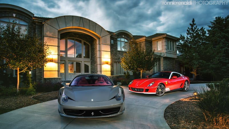 Illustration for article titled Two Rare Ferraris And 1,174 Horsepower