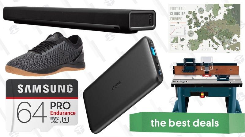 Illustration for article titled Tuesday's Best Deals: New Anker Battery Packs, Refurbished Sonos, Amazon Activewear Sale, and More