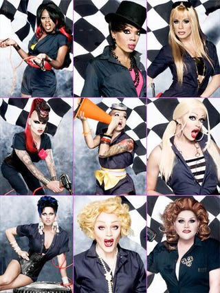 Illustration for article titled Logo re-airing Season 1 (aka the lost season) of Drag Race