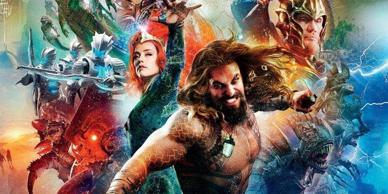 Illustration for article titled Aquaman is an Overstuffed CGI Mess, and a Must Watch in IMAX 3D - Spoiler-Free