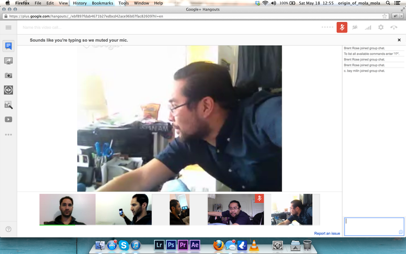 Illustration for article titled Google Hangouts Has a Weird, Fun Multi-Cam Trick
