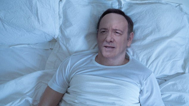 Man Waking Up Spends Few Relaxing Moments In Bed Before Remembering He's Kevin Spacey