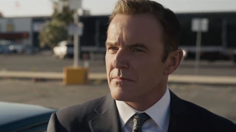 A digitally- de-aged Phil Coulson in Captain Marvel.
