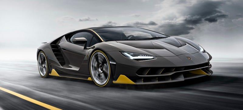 Illustration for article titled Okay Good The 770 HP Lamborghini Centenario Is Adequately Insane