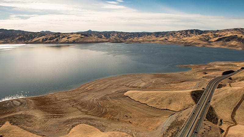 San Luis Reservoir (Image: California Department of Water Resources)