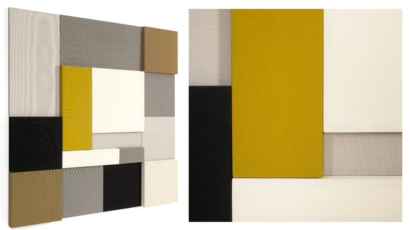 the ghost of mondrian haunts these sound absorbing wall panels
