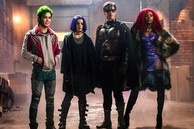 The Cast of Titans Got Their Inspiration Straight From the Team s Classic Comics Run