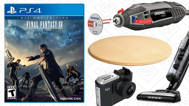 Illustration for article titled Today's Best Deals: Final Fantasy, Dremel, Anker Vacuum, and More