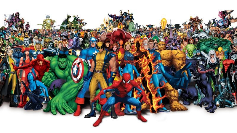 Illustration for article titled Marvel characters band together in this massive mash-up fan trailer