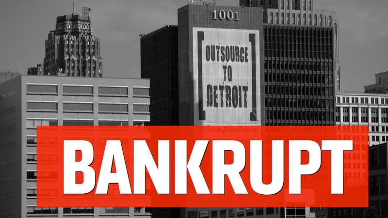 Illustration for article titled Detroit Files For Largest Municipal Bankruptcy In U.S. History (UPDATING)