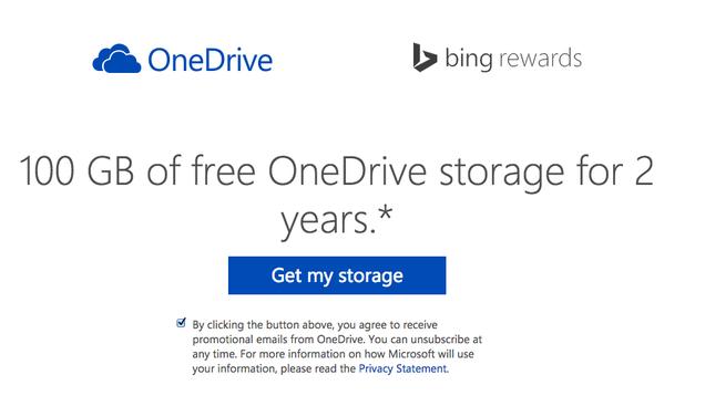 free bonus onedrive