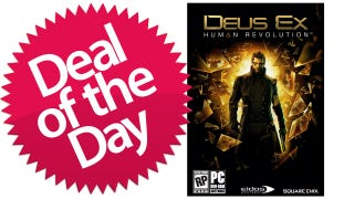 Illustration for article titled Deus Ex: Human Revolution PC Download Is Your What-Does-It-Mean-To-Be-Human Deal of the Day