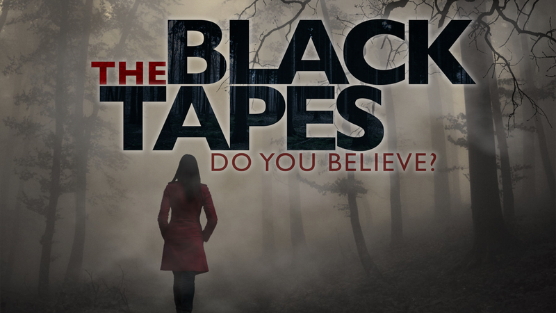 The cover art for The Black Tapes.