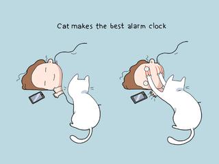 Illustration for article titled Cat ftw