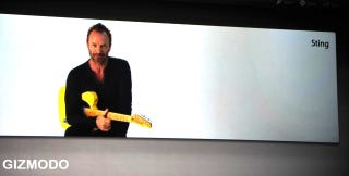 Illustration for article titled Sting Teaches You to Play Guitar in Garageband '09
