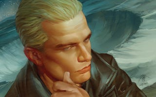 Illustration for article titled James Marsters reveals the secrets of his dark new Spike comic