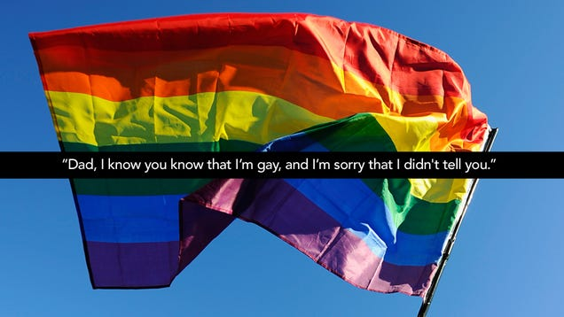 Happy National Coming Out Day: My Dad Found Out That I'm ...