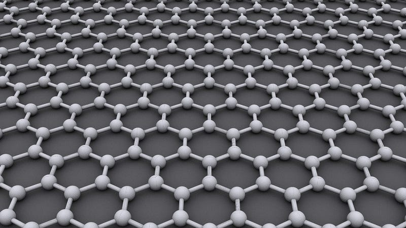Illustration for article titled Graphene Can Work in Real Life Electronics--With One-Atom-Thin Wires