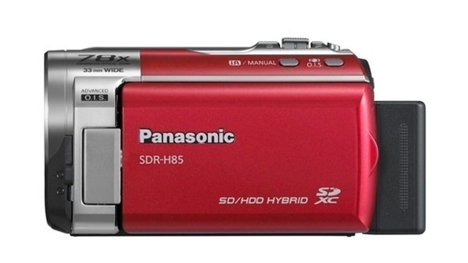 Panasonic Adds Standard Def SDR-H85, SDR-T50 and SDR-S50 To Camcorder Range