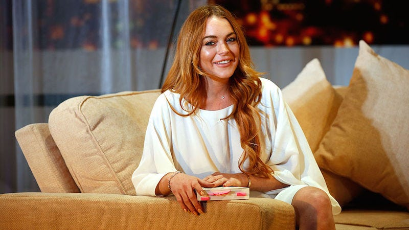 Illustration for article titled Lindsay Lohan Has Advice For Other Women Turning 30