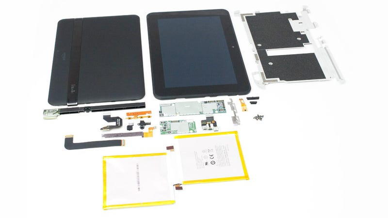Illustration for article titled Kindle Fire HD 8.9 Teardown: A Samsung Tablet By Another Name?