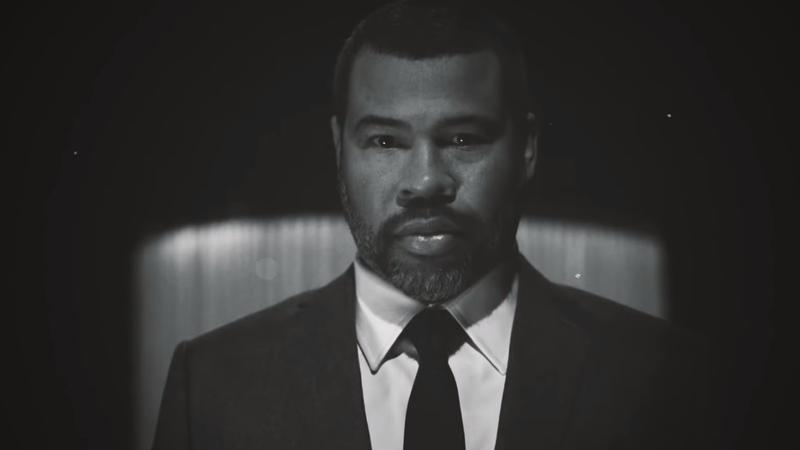 Jordan Peele, hosting The Twilight Zone.