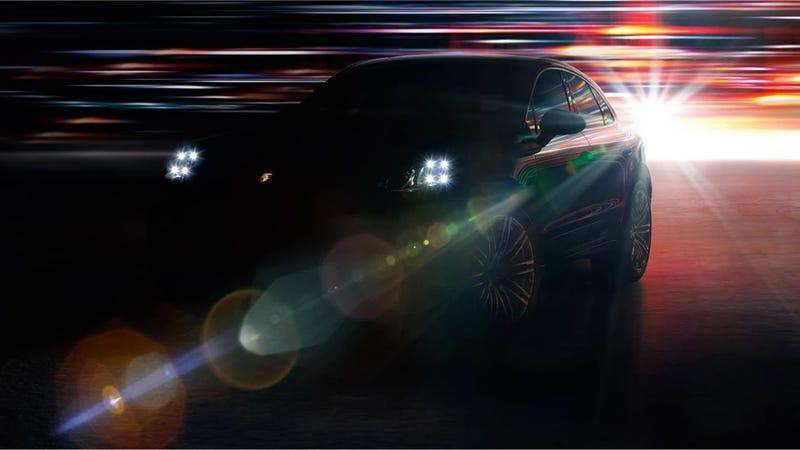 Illustration for article titled The 2015 Porsche Macan Will Have These Funky Quad Headlights