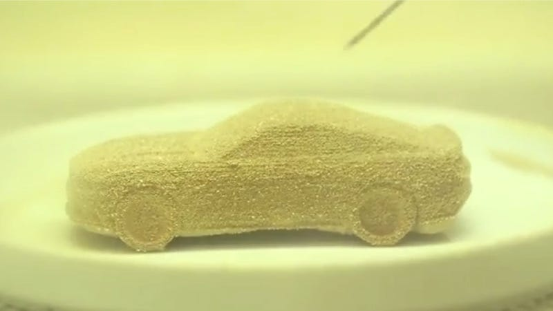 Illustration for article titled 3D-Print A Chocolate Ford Mustang For Your Love This Valentine's Day
