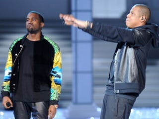 Kanye West and Jay-Z (Getty Images)